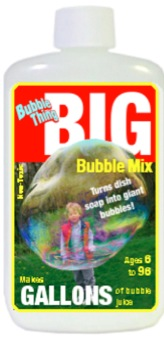BIG Bubble Mix bottle